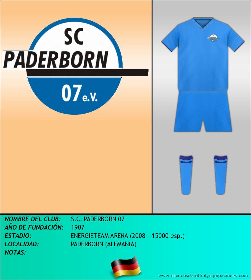 Escudo de S.C. PADERBORN 07