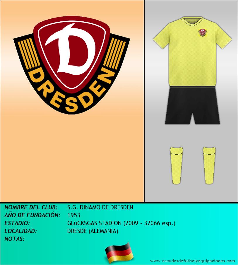 Escudo de S.G. DINAMO DE DRESDEN