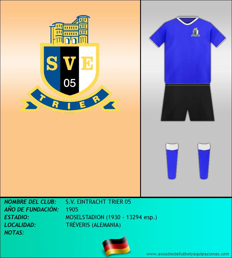 Escudo de S.V. EINTRACHT TRIER 05