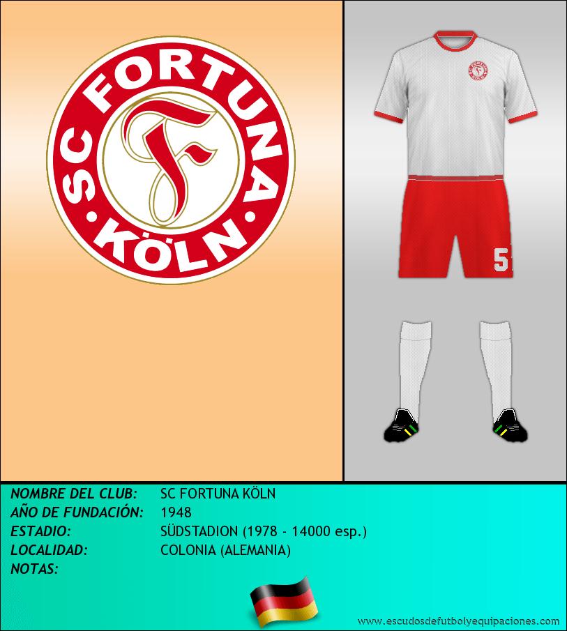 Escudo de SC FORTUNA KÖLN