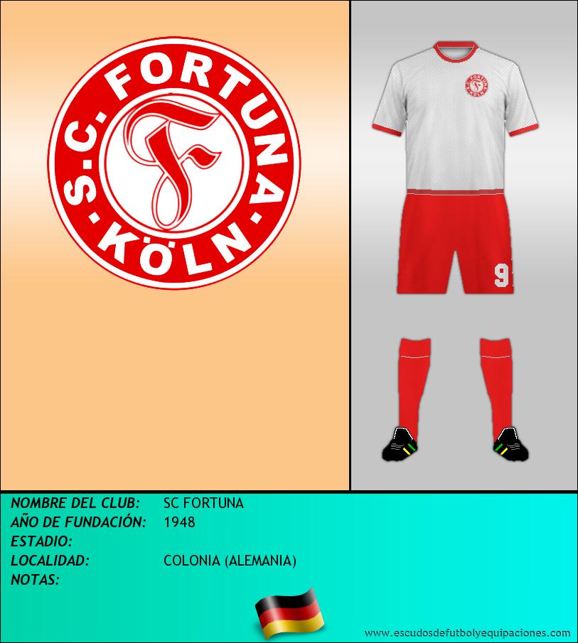 Escudo de SC FORTUNA