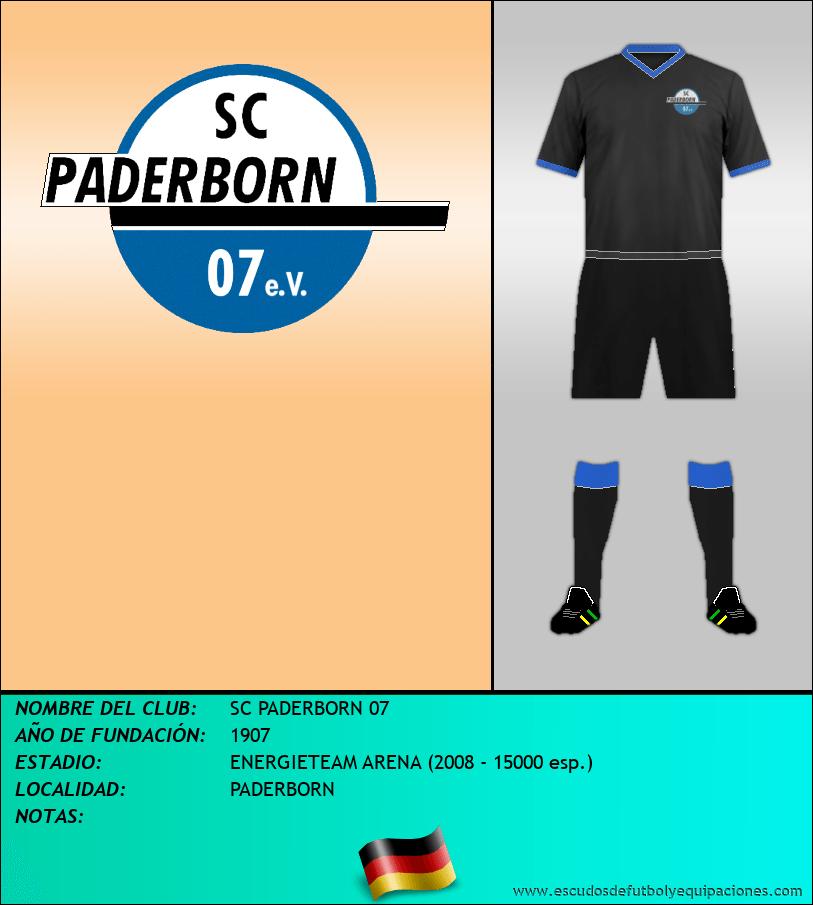 Escudo de SC PADERBORN 07