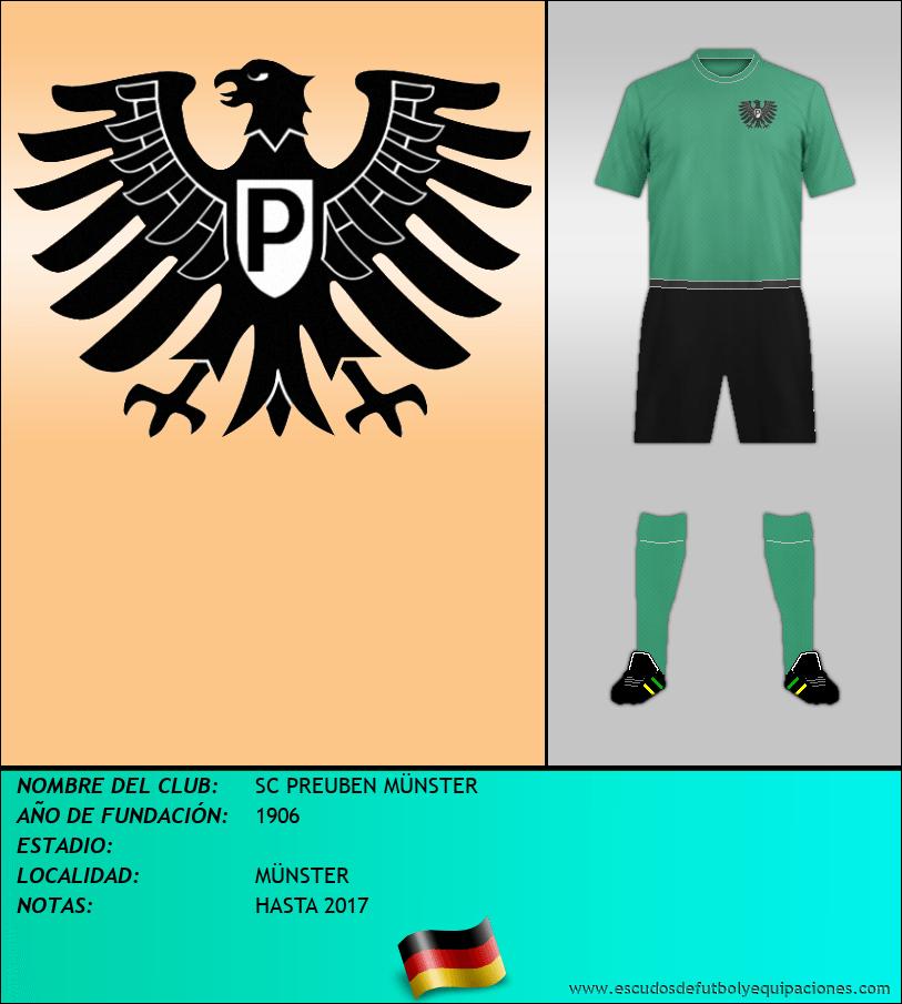 Escudo de SC PREUBEN MÜNSTER