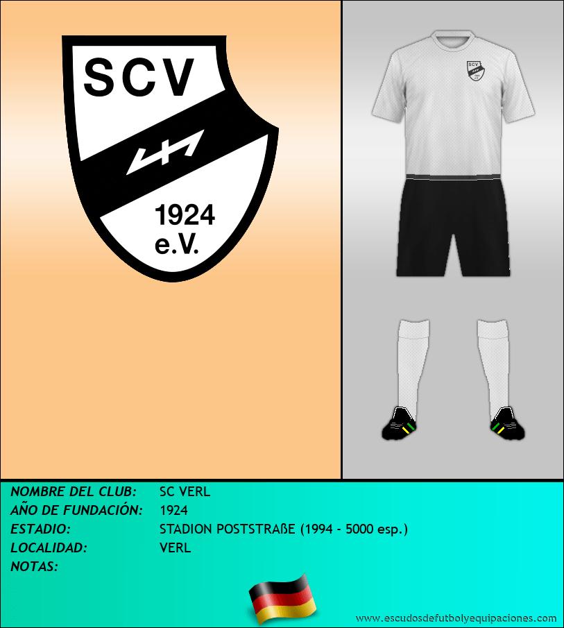 Escudo de SC VERL