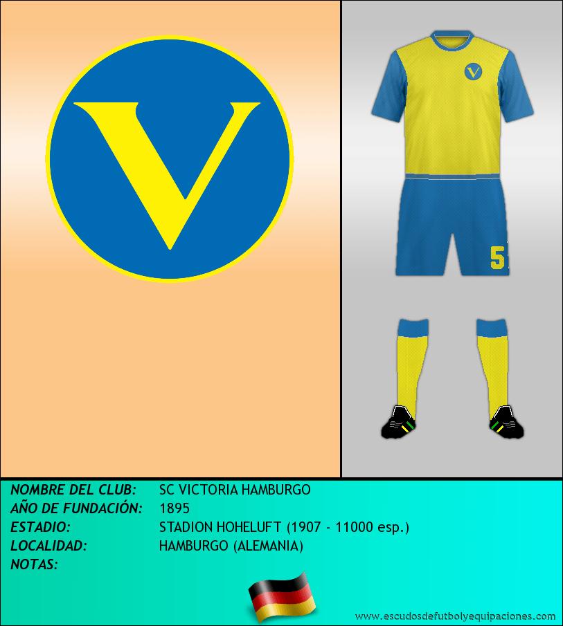 Escudo de SC VICTORIA HAMBURGO
