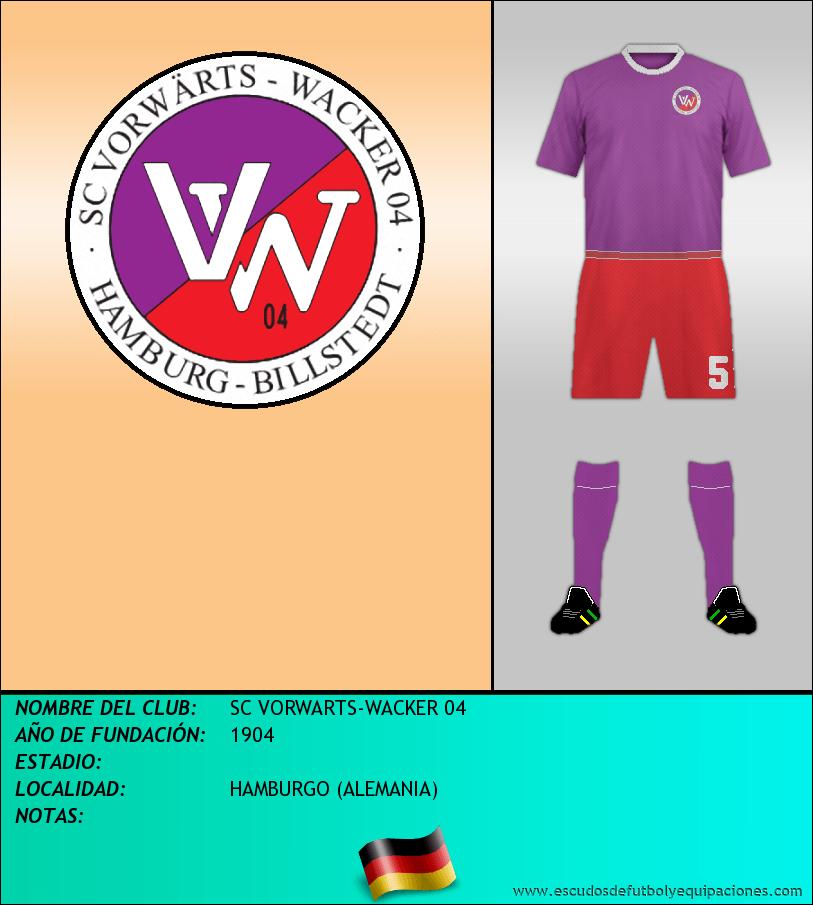 Escudo de SC VORWARTS-WACKER 04