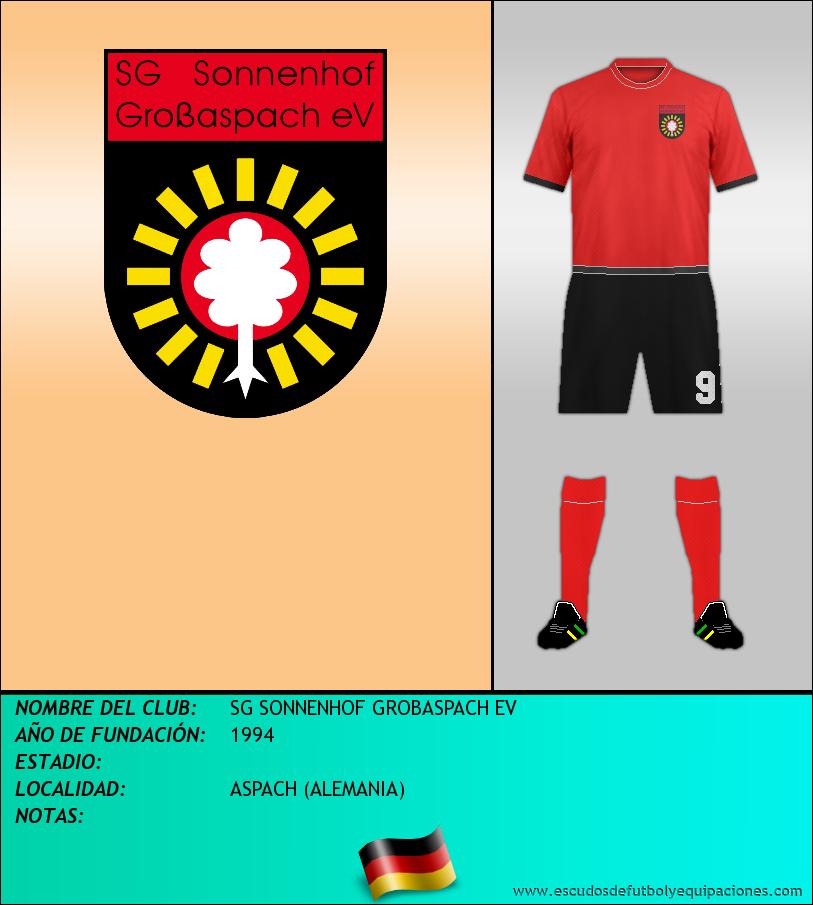 Escudo de SG SONNENHOF GROBASPACH EV