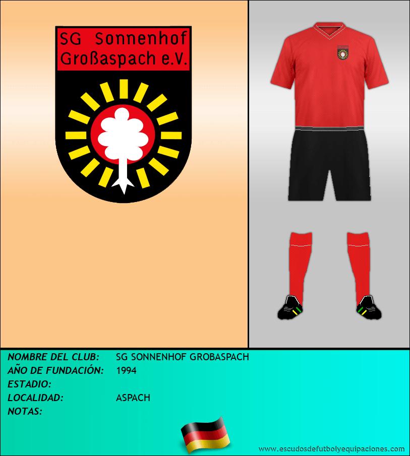 Escudo de SG SONNENHOF GROBASPACH