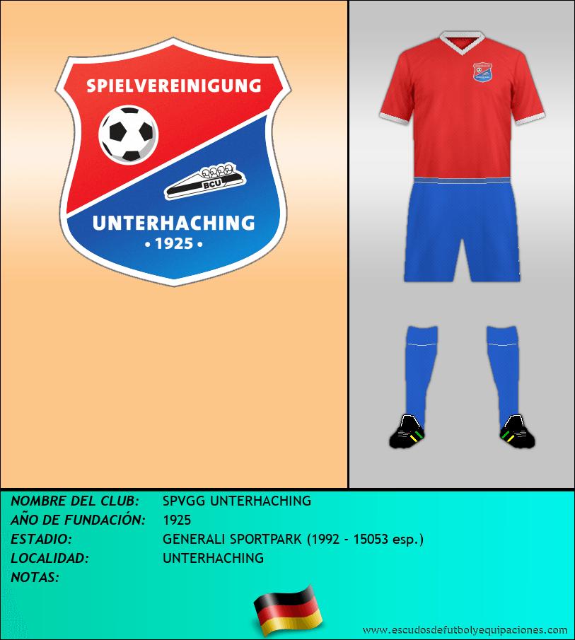 Escudo de SPVGG UNTERHACHING