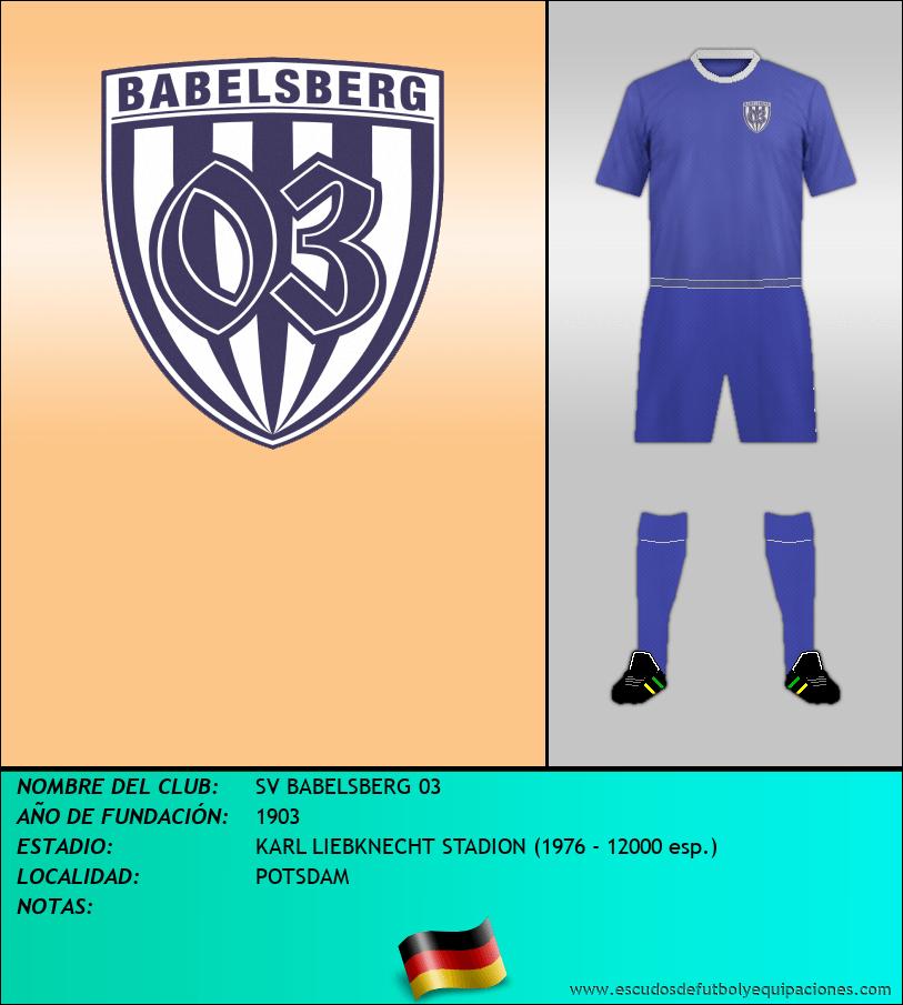 Escudo de SV BABELSBERG 03