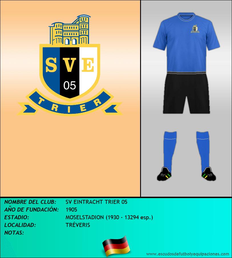 Escudo de SV EINTRACHT TRIER 05