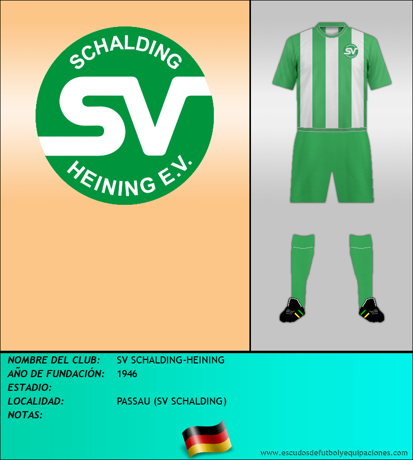 Escudo de SV SCHALDING-HEINING