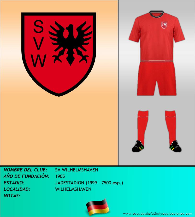 Escudo de SV WILHELMSHAVEN