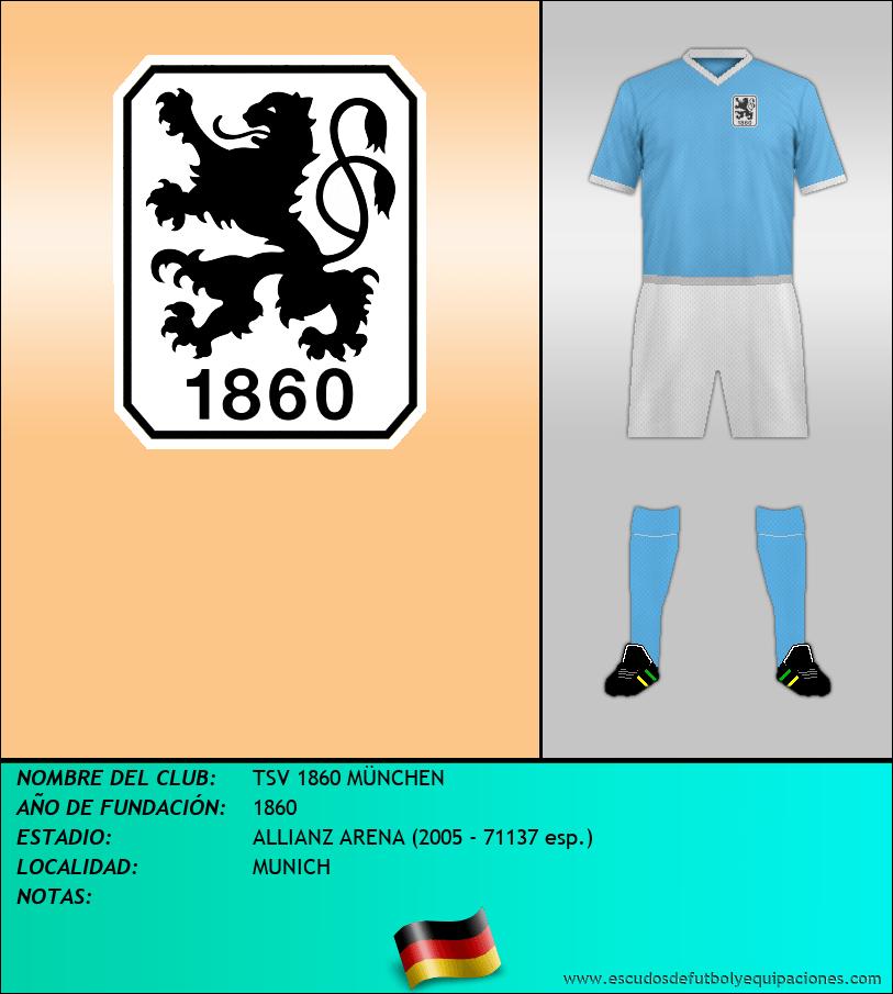 Escudo de TSV 1860 MÜNCHEN