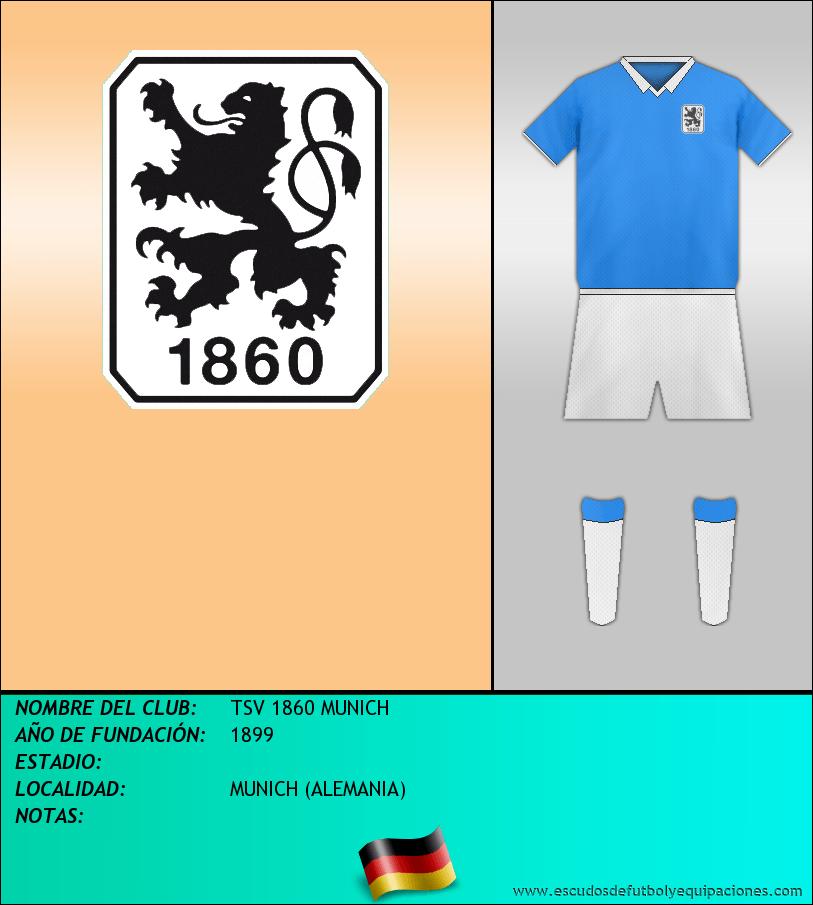 Escudo de TSV 1860 MUNICH