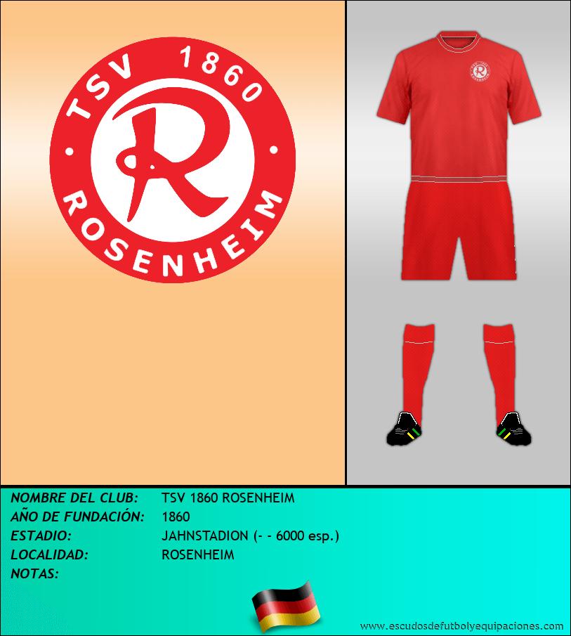 Escudo de TSV 1860 ROSENHEIM