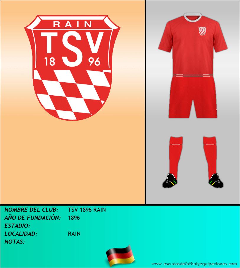 Escudo de TSV 1896 RAIN