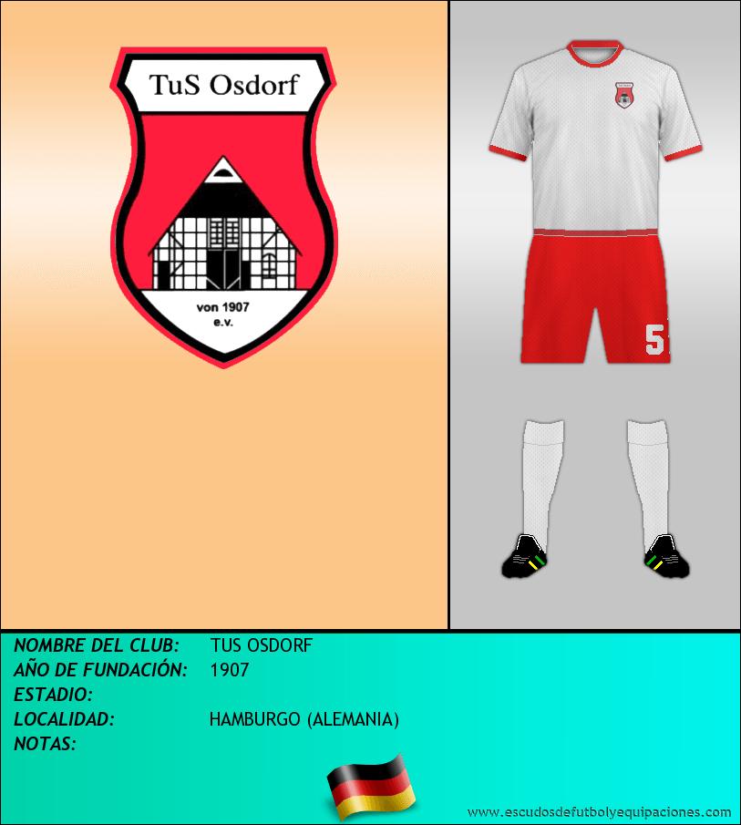 Escudo de TUS OSDORF