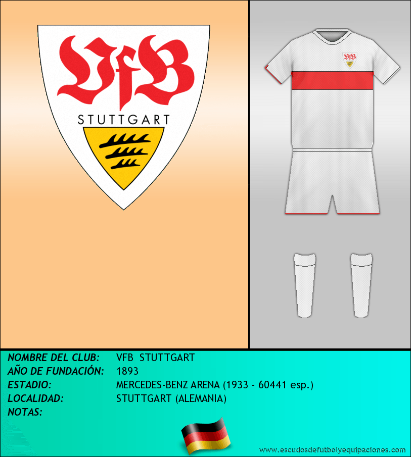Escudo de VFB  STUTTGART
