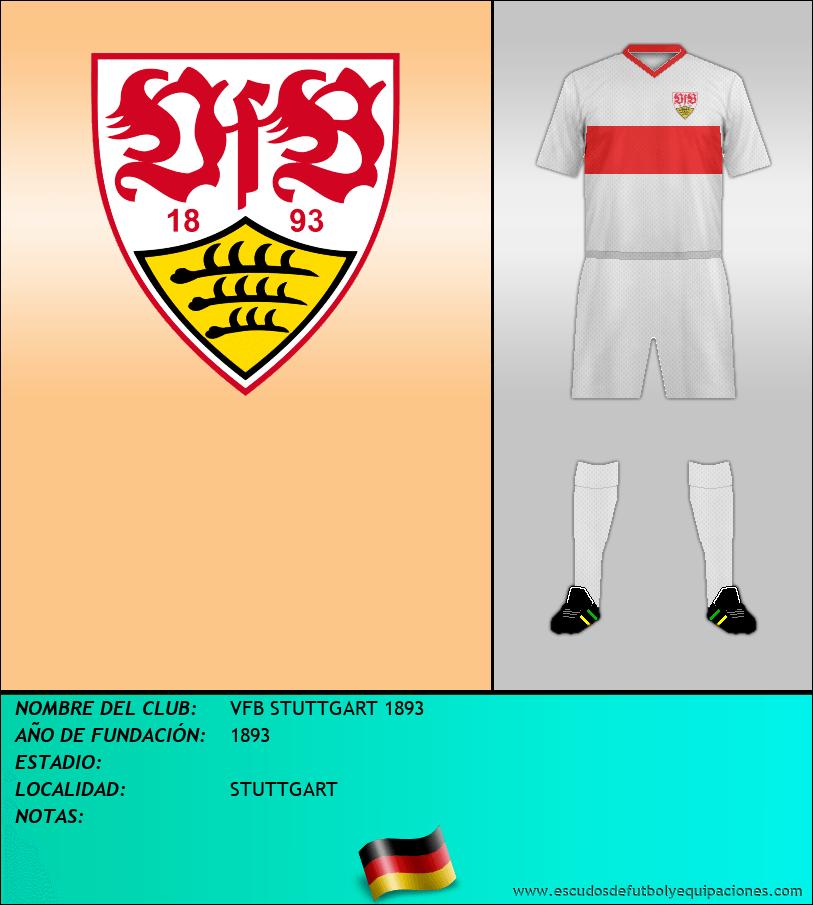 Escudo de VFB STUTTGART 1893