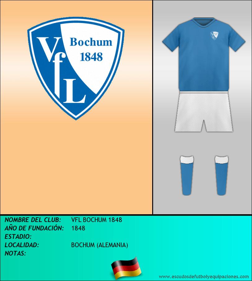 Escudo de VFL BOCHUM 1848