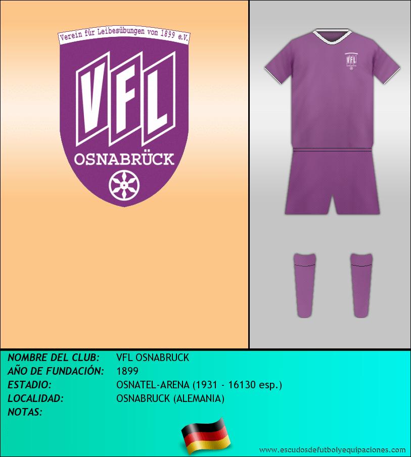 Escudo de VFL OSNABRUCK