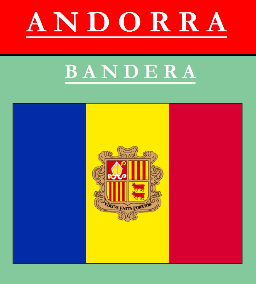 Escudo de BANDERA DE ANDORRA