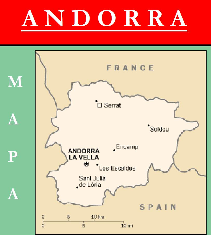 Escudo de MAPA DE ANDORRA