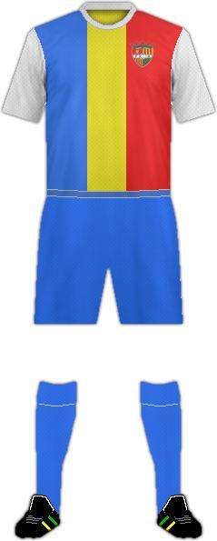 Equipación FC ANDORRA