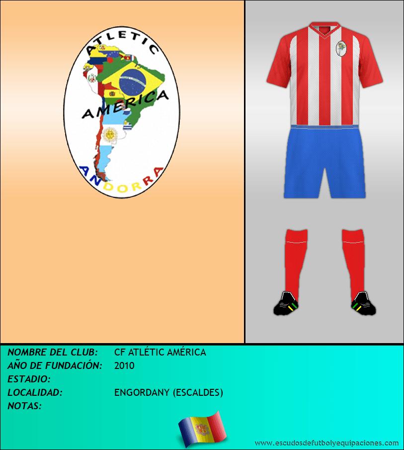Escudo de CF ATLÉTIC AMÉRICA