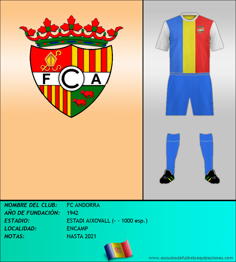 Escudo de FC ANDORRA