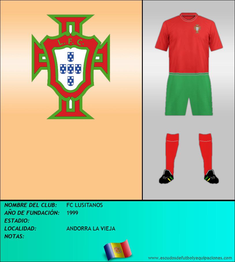 Escudo de FC LUSITANOS