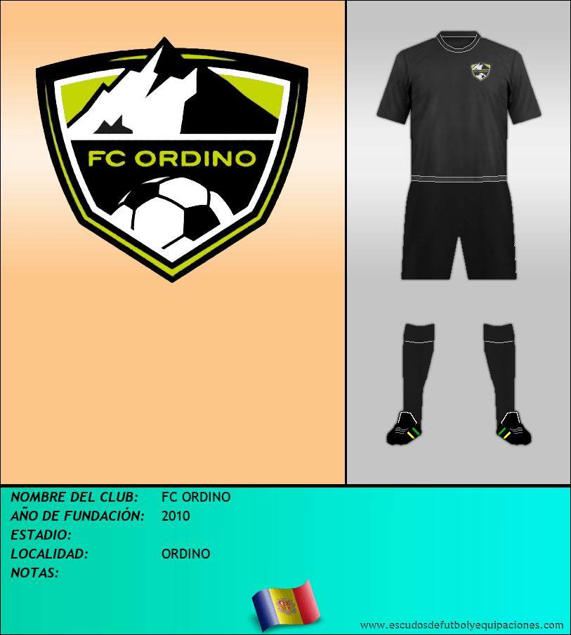 Escudo de FC ORDINO