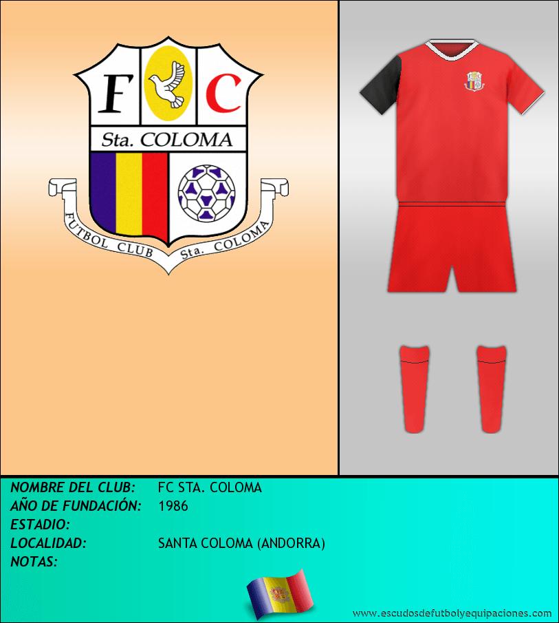 Escudo de FC STA. COLOMA
