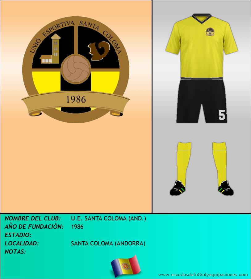 Escudo de U.E. SANTA COLOMA (AND.)