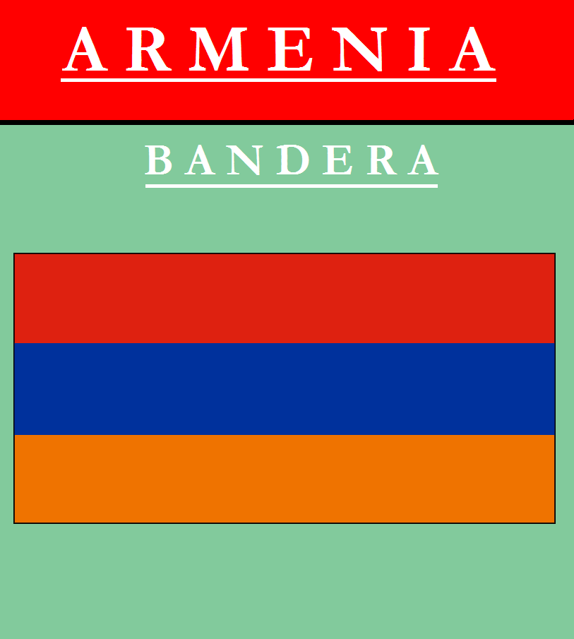 Escudo de BANDERA DE ARMENIA