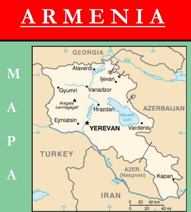 Escudo de MAPA DE ARMENIA