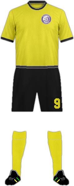 Equipación ALASHKERT FC