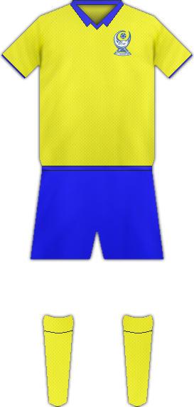 Equipación FC BANANTS