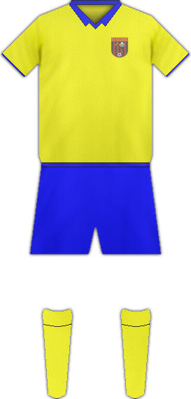Equipación GANDZASAR FC