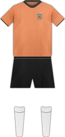 Equipación YEVERAN UNITED FC