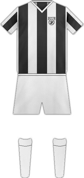 Equipación ZENITH FC YEVERAN