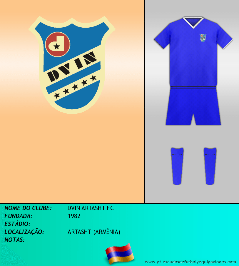 Escudo de DVIN ARTASHT FC