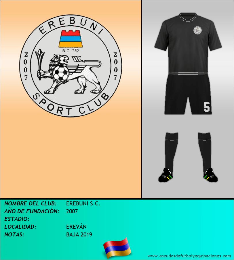 Escudo de EREBUNI S.C.