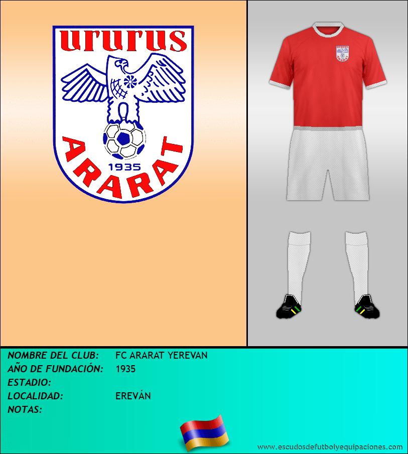 Escudo de FC ARARAT YEREVAN