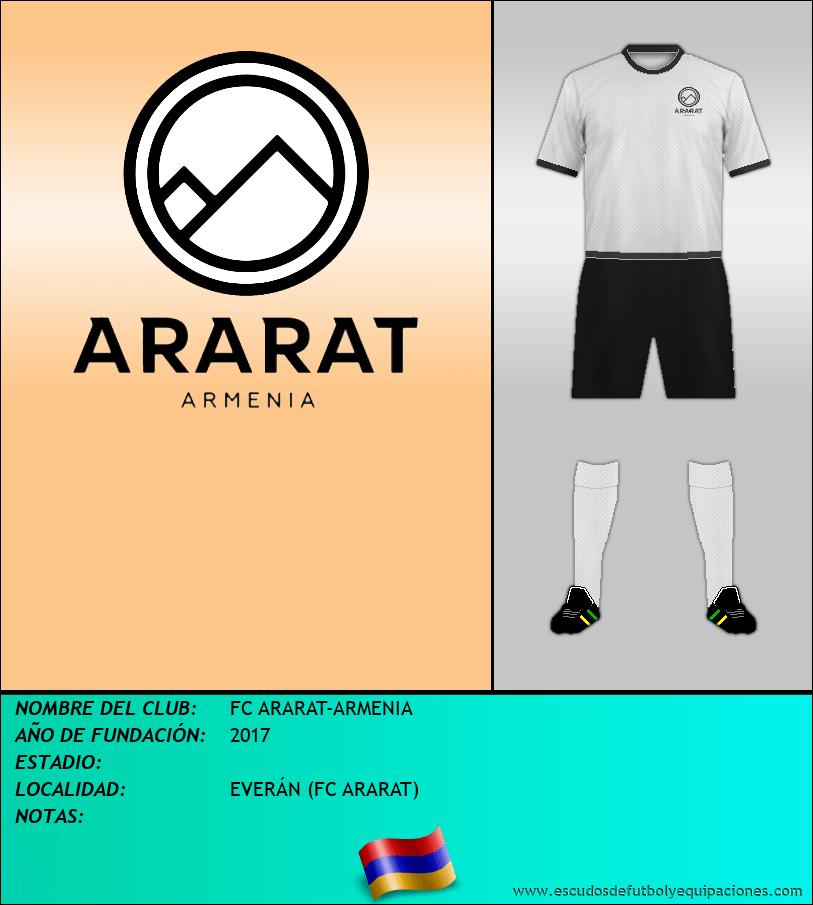 Escudo de FC ARARAT-ARMENIA