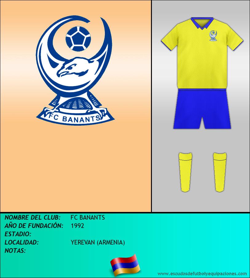 Escudo de FC BANANTS
