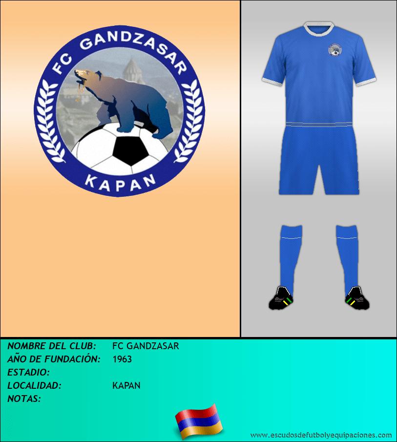 Escudo de FC GANDZASAR