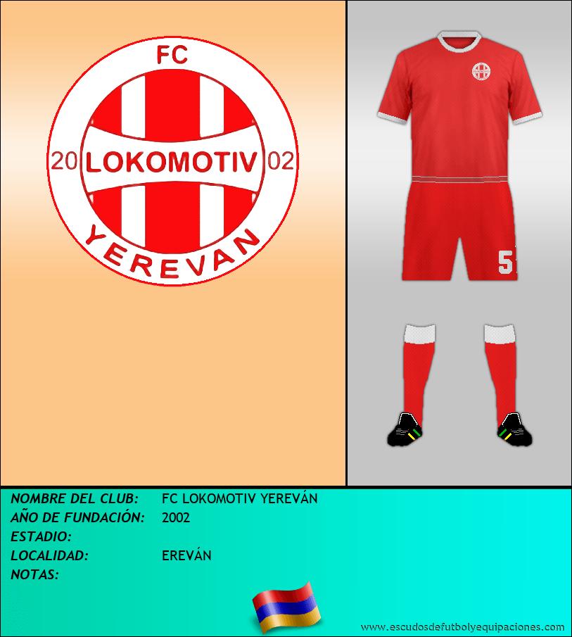 Escudo de FC LOKOMOTIV YEREVÁN