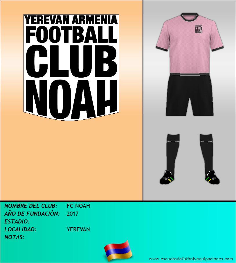 Escudo de FC NOAH
